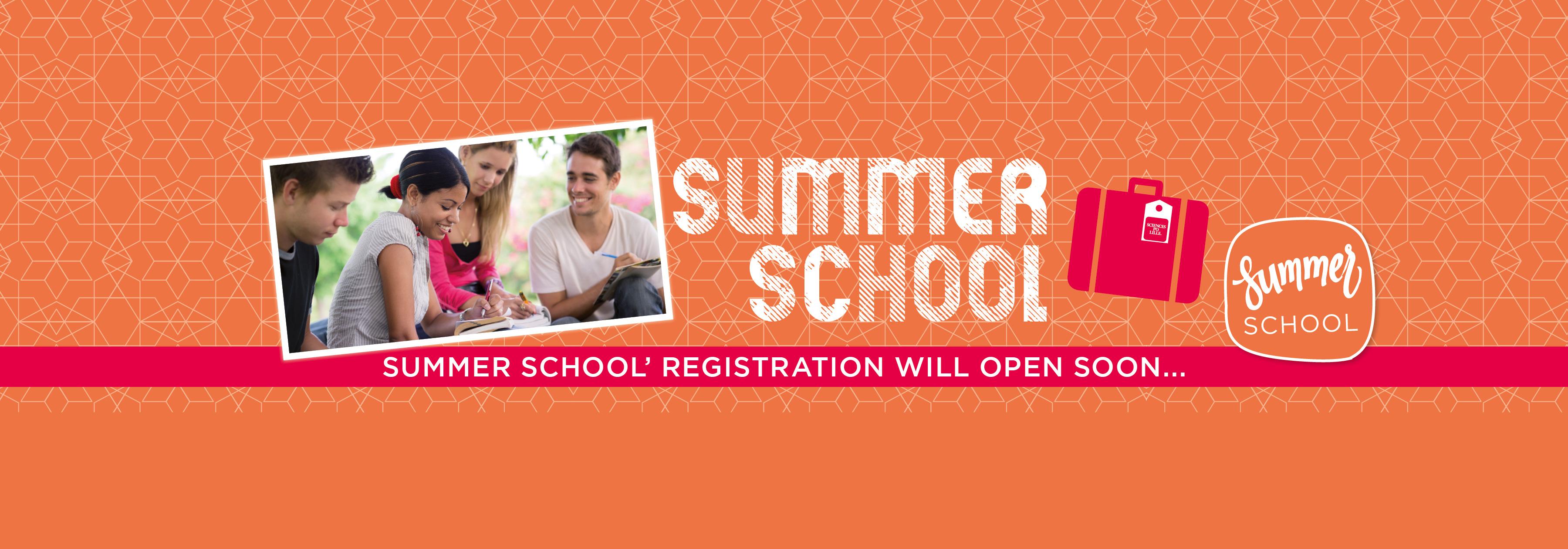 summer school registration will open soon!